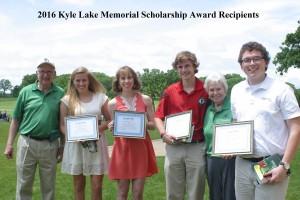 2016 Scholarship Recipients